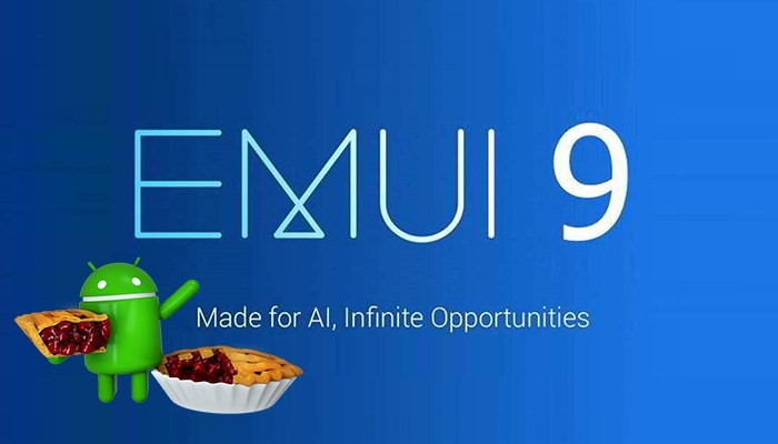 android pie - emui 9 update