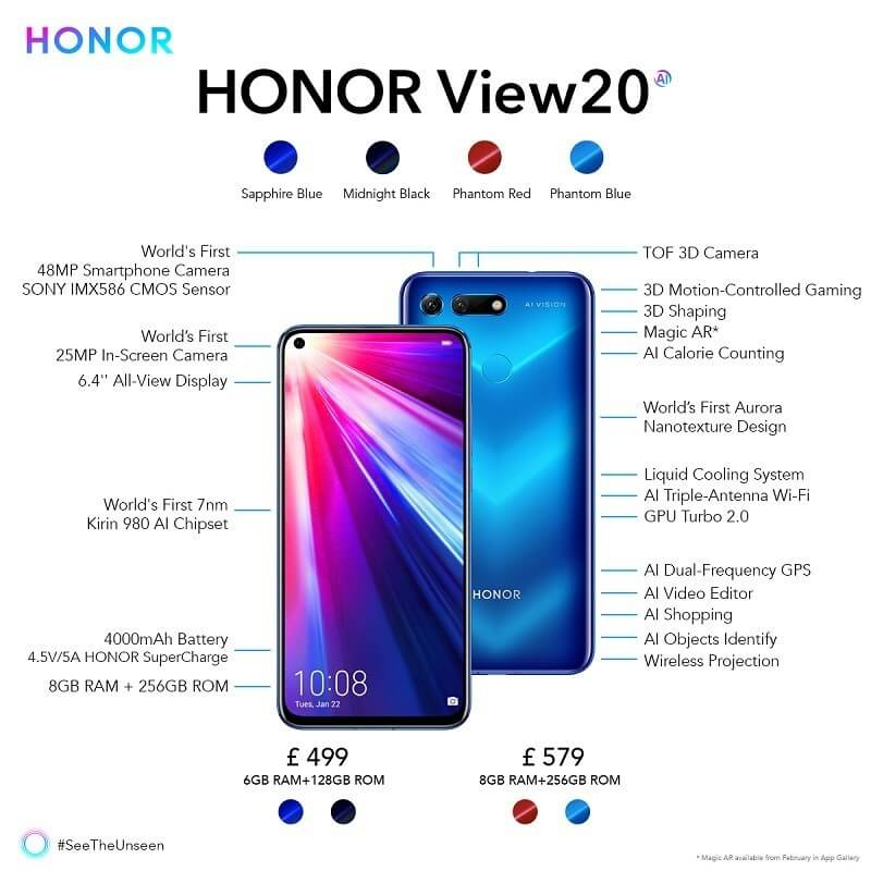 HONOR's best android phone in 2019 – HONOR View20