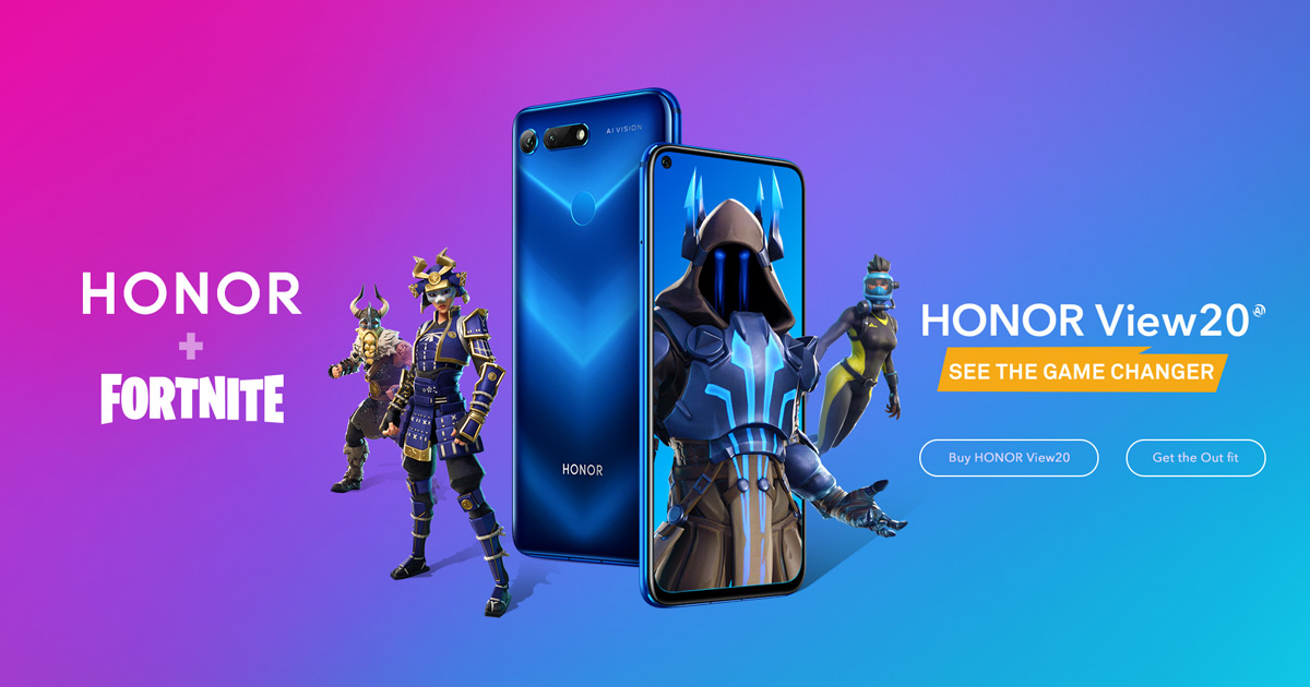 HONOR Guard - the Free Fortnite Skin is Available for HONOR