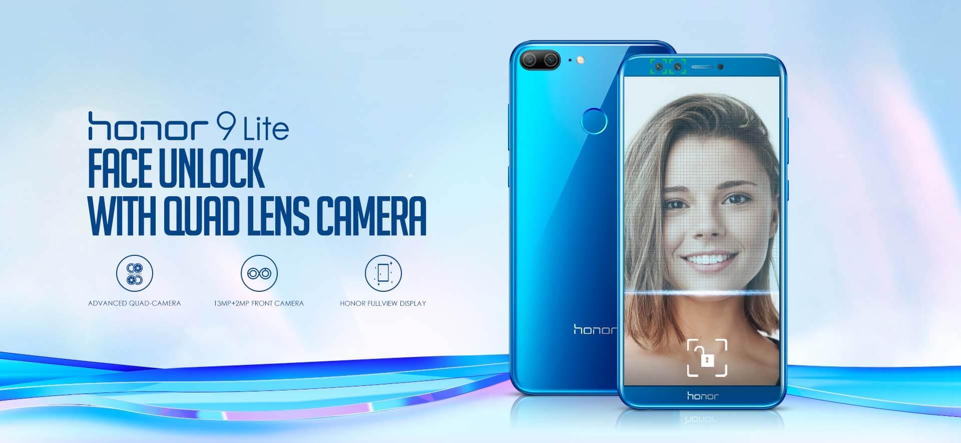 HONOR 9 Lite Price/Review: Buy Quad Lens Camera Phone