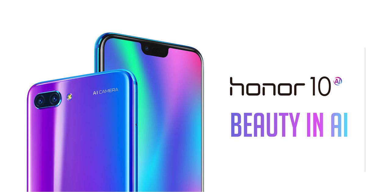 HONOR 10 Price/Review: Buy AI Dual Lens Camera Phone | HONOR