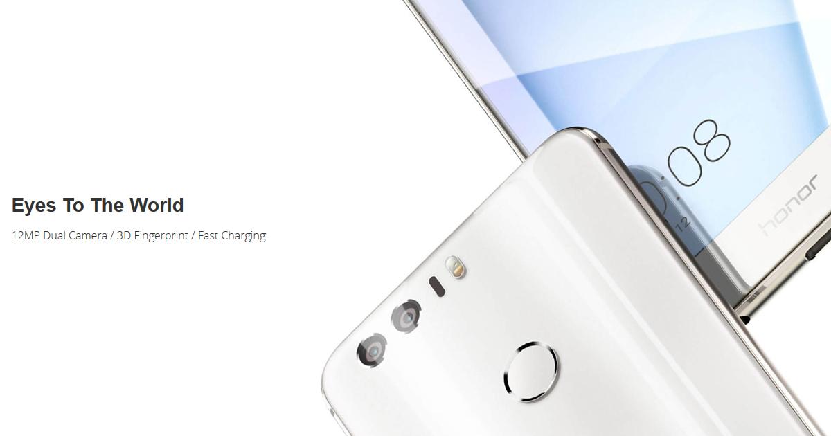 HONOR 8 Price/Review: Buy 12MP Dual Camera Phone | HONOR Global