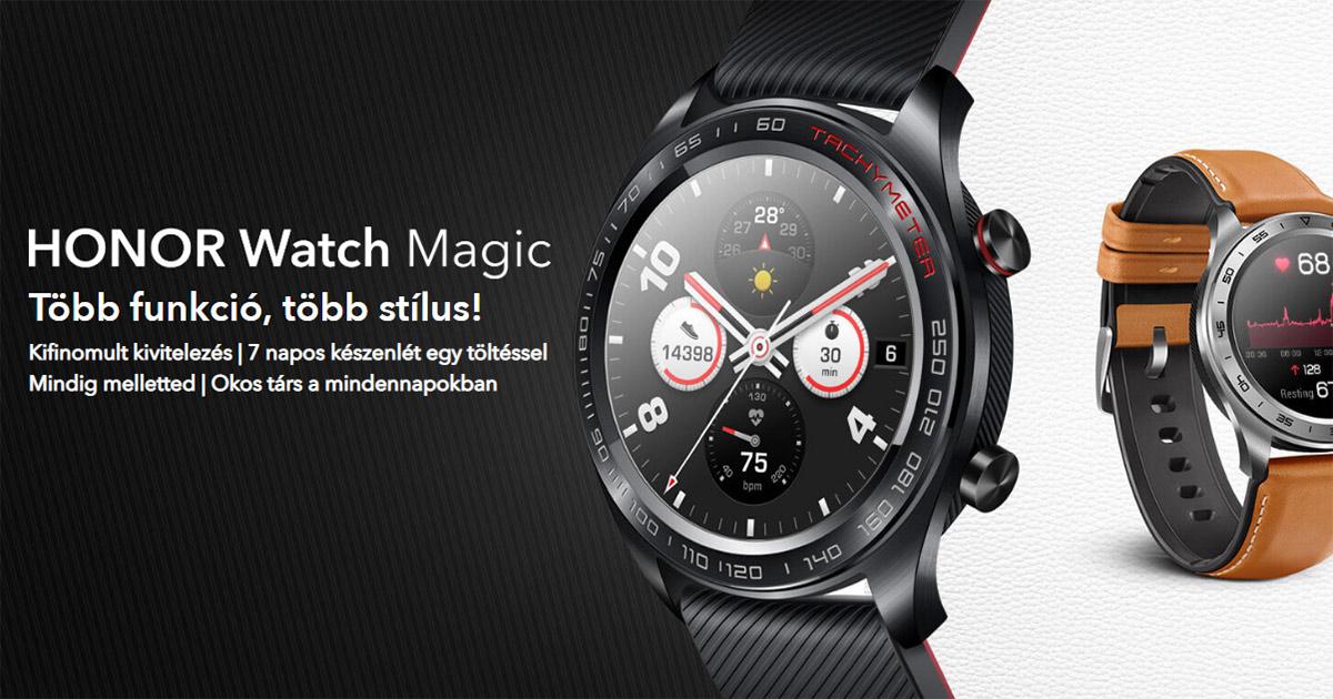 Honor Watch Magic okosóra teszt és használati útmutató