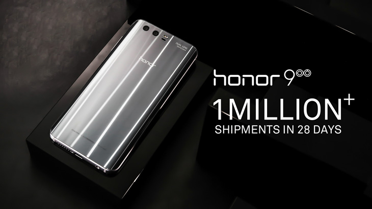 honor 9 sales success