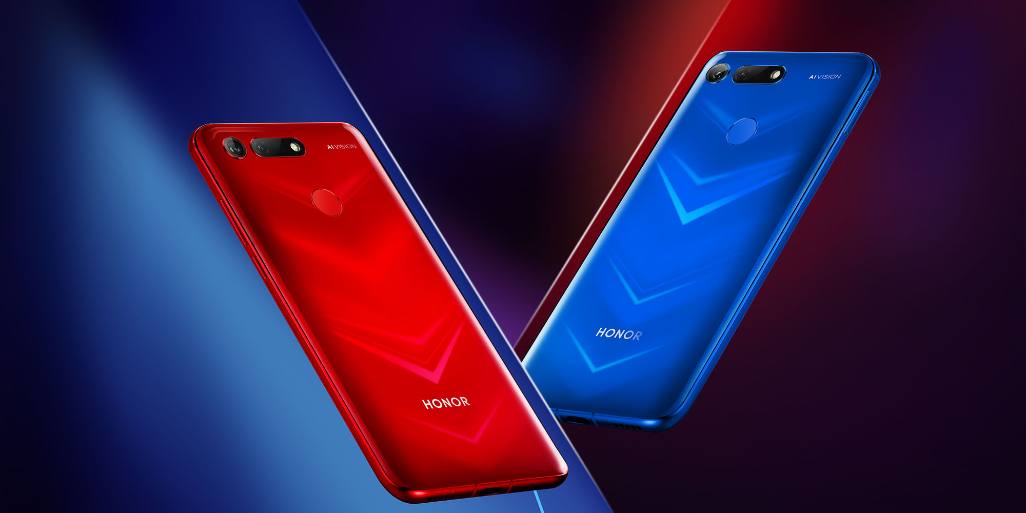 HONOR View20 Pantom Red & Phantom Blue