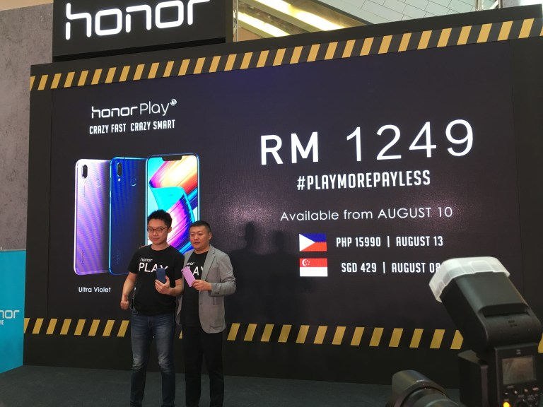honor play power house with an affordable price tag