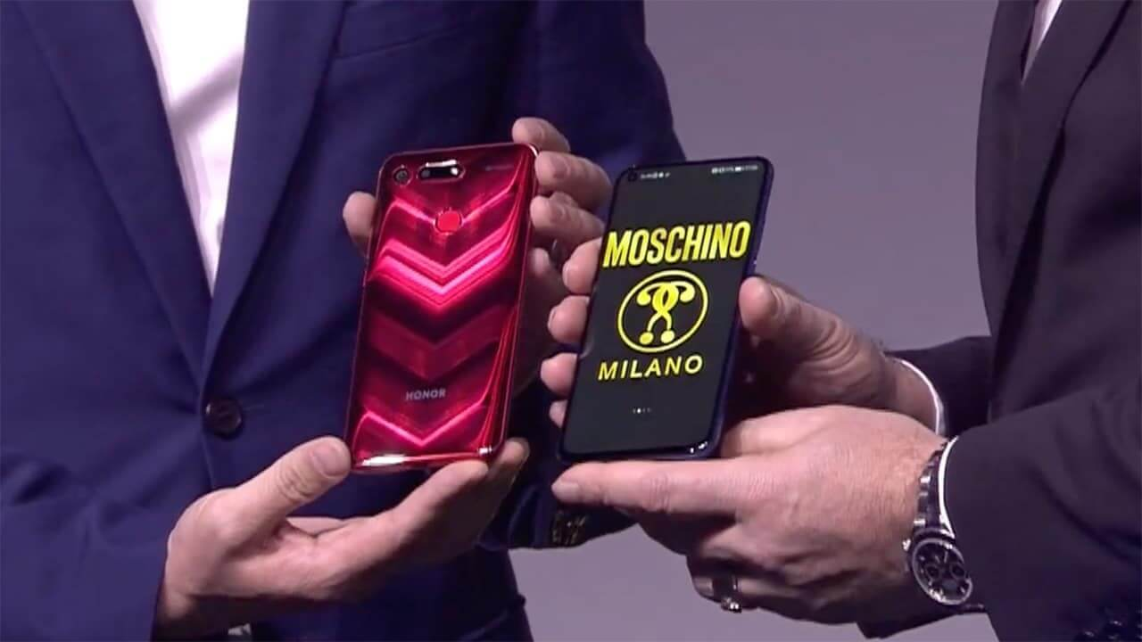 HONOR View20 will come in special edition Moschino version