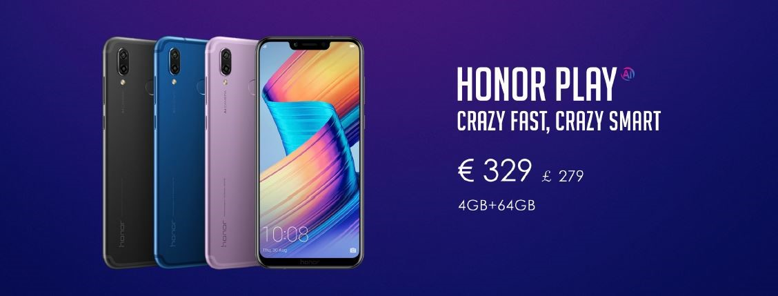 HONOR play for gamers