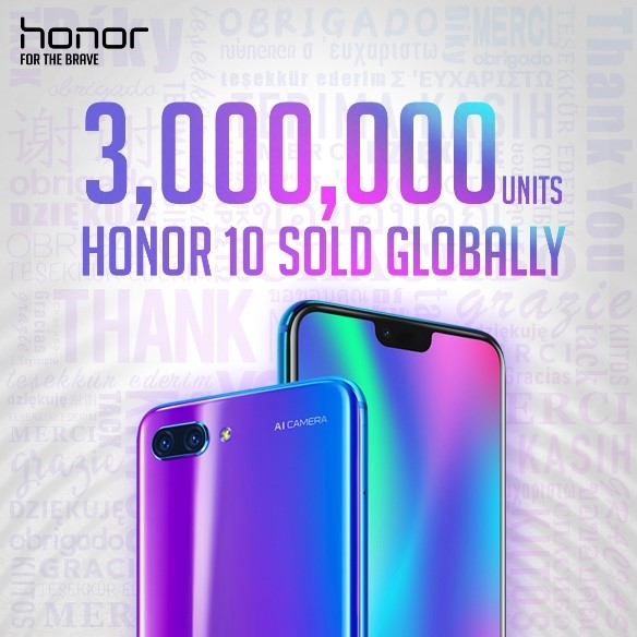 HONOR stuns with 150% growth in international sales in H1 2018